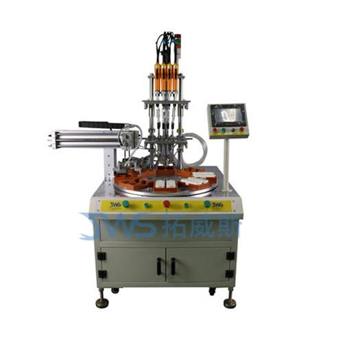 多轴转盘式自动拧螺丝机